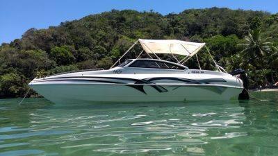 alugar charter 24 lancha angra dos reis rj costa verde 209 523