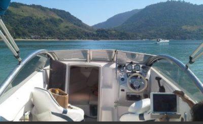 alugar charter lancha 2 pes paraty rj costa verde 55 2309