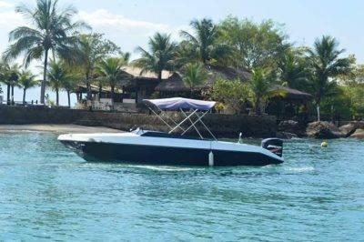 alugar charter 22 lancha paraty rj costa verde 07 5225
