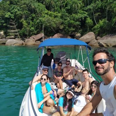 385/alugar charter lancha 2 pes ubatuba sp litoral norte 389 770