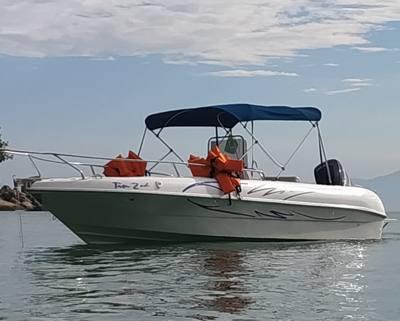 385/alugar charter lancha 2 pes ubatuba sp litoral norte 389 77