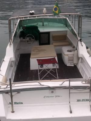 402/alugar charter lancha 3 pes angra dos reis rj costa verde 398 937