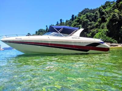 423/alugar charter 26 lancha angra dos reis rj costa verde 407 3439