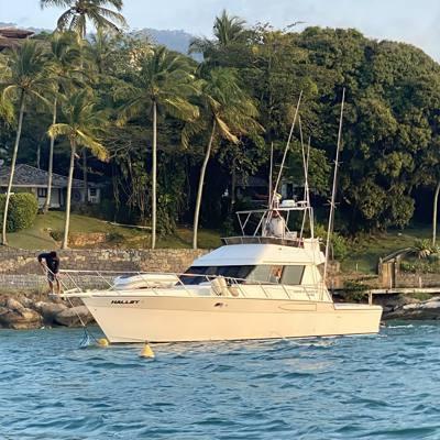 58/alugar charter 45 lancha ilhabela sp litoral norte 539 7568