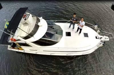 605/alugar charter 38 lancha sao sebastiao sp litoral norte 88 7770