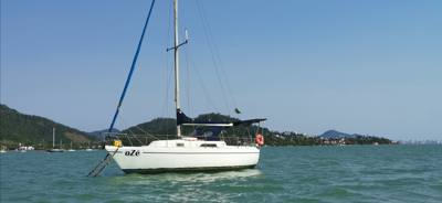 015/alugar charter 25 veleiro florianopolis sc none 596 9147