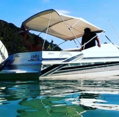 70/alugar charter 22 lancha ubatuba sp litoral norte 694 7484