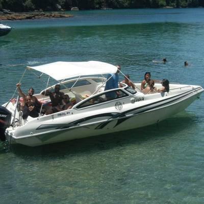 alugar charter 2 lancha angra dos reis rj costa verde 159 7530
