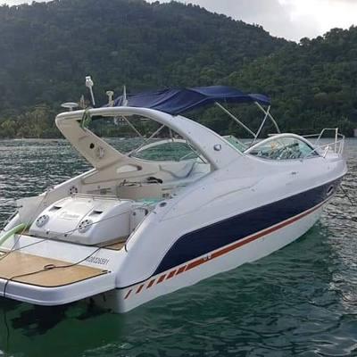 alugar charter lancha 29 pes angra dos reis rj costa verde 395 2087