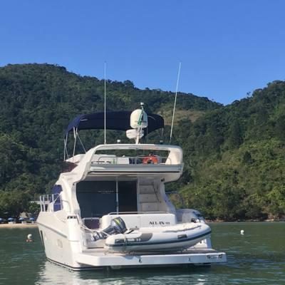 677/alugar charter 50 lancha caraguatatuba sp litoral norte 81 9383
