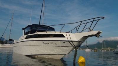 65/alugar charter lancha 32 pes caraguatatuba sp litoral norte 355 1108