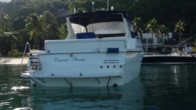 65/alugar charter lancha 32 pes caraguatatuba sp litoral norte 355 1111