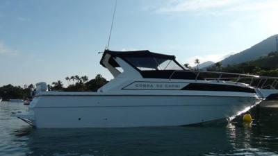 65/alugar charter lancha 32 pes caraguatatuba sp litoral norte 355 1112