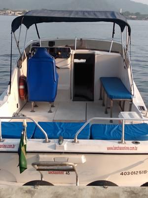 51/alugar charter lancha 26 pes sao vicente sp baixada santista 415 2223
