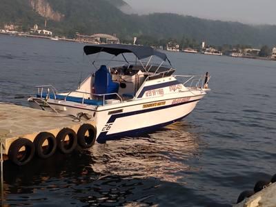 51/alugar charter lancha 26 pes sao vicente sp baixada santista 415 2227